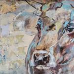 Neus aus dem Kuhstall, Acryl auf Leinwand, 100x140 cm, 2013