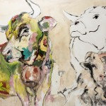 Friendship, Acryl auf Leinwand, 110x140cm, 2014