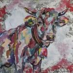 Hey You, Acryl auf Leinwand/Stoff, 100x100cm, 2015