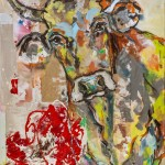Weideglück, Acryl auf Leinwand, 100x80cm, 2015
