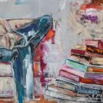 Das Leben ist mein, Acryl auf Leinwand, 100x220cm, 2012