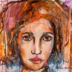 Begegnungen, Femmes Fortes, Acryl auf Leinwand, 100x120cm, 2009