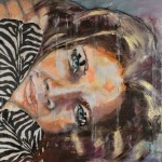 Schmusekatze, Acryl auf Leinwand, 110x160cm, 2011