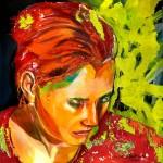 Sehnsucht, Acryl auf Leinwand, 140x140cm, 2008