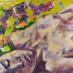 Sun on my Skin, Acryl auf Leinwand, 110x160cm, 2011