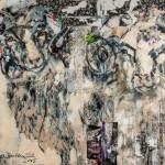 Herrenalmrausch, Acryl auf Leinwand, 100x140 cm, 2015