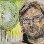 Jürgen Klopp - Das Leben ist rund, Acryl auf Leinwand, 100x140 cm, 2015