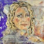 Maria Furtwängler, Acryl auf Leinwand, 140x140 cm, 2015