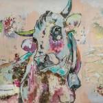 Cute Rosi, Acryl auf Leinwand, 100x140 cm, 2016