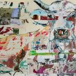 Proud Mary, Acryl auf Leinwand, 120x160 cm, 2016