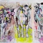 Triple, Acryl auf Leinwand, 100x140 cm, 2016