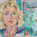 Jutta Speidel, Acryl auf Leinwand, 110x160 cm, 2015