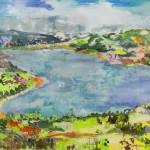 Gefühlt Heimat 2, Acryl auf Leinwand, 120x160 cm, 2016