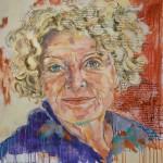 Kathrin Ackermann,  Acryl auf Leinwand, 120x140 cm, 2016
