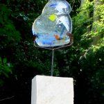 Marésstein Glasskulptur, 2015