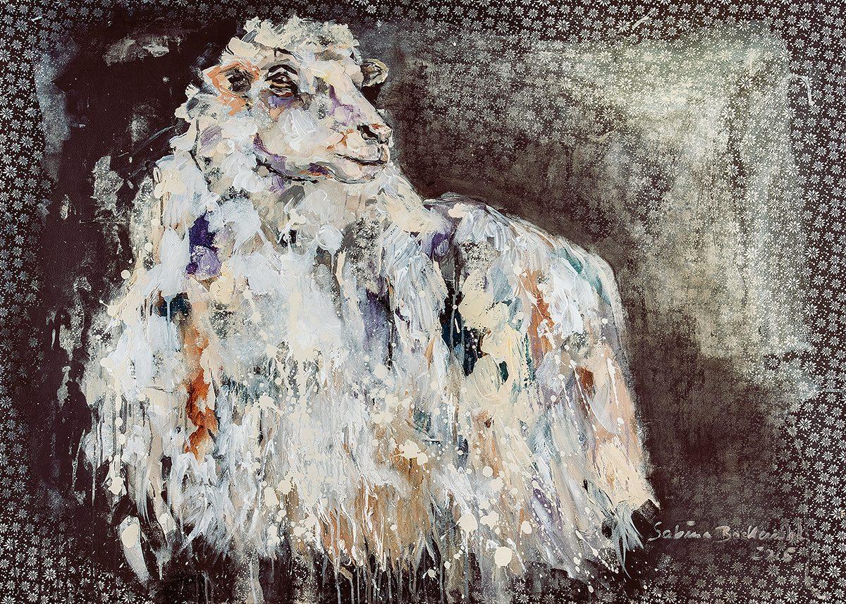 2015, fräulein edelweiss_84x60 cm