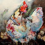 The Boss, Acryl auf Leinwand, 120x120 cm, 2017