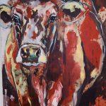Nature Cow, Acryl auf Leinwand, 140x100 cm, 2017