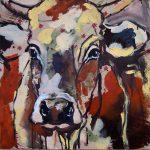 Nature Cow 2, Acryl auf Leinwand, 50x50 cm, 2017