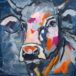 Smart Selly, Acryl auf Leinwand, 50x50 cm, 2017