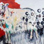 Amalia, Acryl auf Leinwand, 100x140 cm, 2017