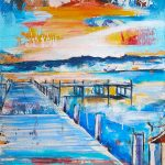 Gefühlte Heimat 9, Acryl auf Leinwand, 60x120 cm, 2017