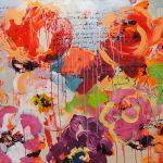 Nature Wild Flowers II, Acryl auf Leinwand, 100x120 cm, 2018