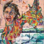 Lebensgefühl, Acryl auf Leinwand, 143 x 123 cm, 2018