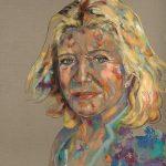 Jutta Speidel, Acryl auf Leinwand, 160 x 140 cm, 2018
