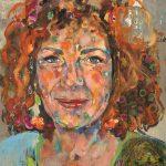 Nina Hoger, Acryl auf Leinwand, 160 x 140 cm, 2018