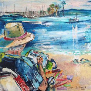 Der Maler und das Meer Sabina Bockemühl